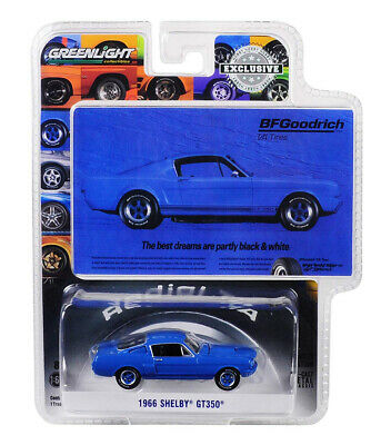 Greenlight 1:64 BFGoodrich Vintage 1966 Shelby GT350 Hobby Exclusive