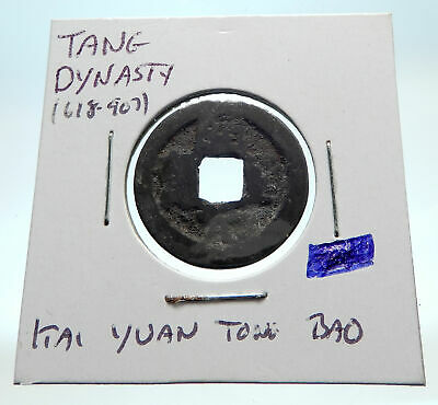 618-907AD CHINESE TANG Dynasty OLD Genuine Antique Cash Coin of CHINA i76254