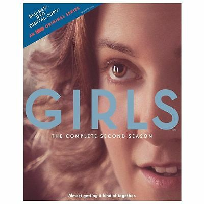 Girls: The Complete Second Season (Blu-ray/DVD, 2013, 3-Disc Set)