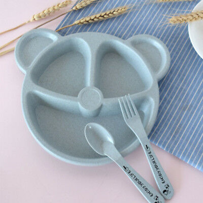 Feeding Food Tableware Lovely Panda Kid Dishes Pretty Baby Eating Dinnerware Set