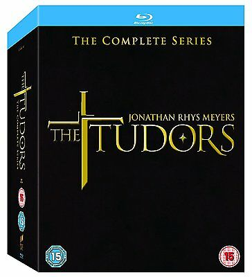 The Tudors - Complete Series 1-4 (Blu-ray, 12 Discs, Region Free) *NEW/SEALED*