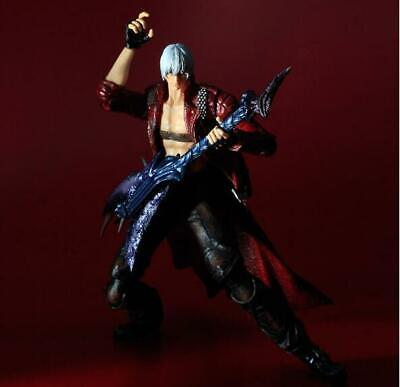 Play Arts Kai Devil May Cry 3 Dante Rebellion PVC Action Figure Model Boxed