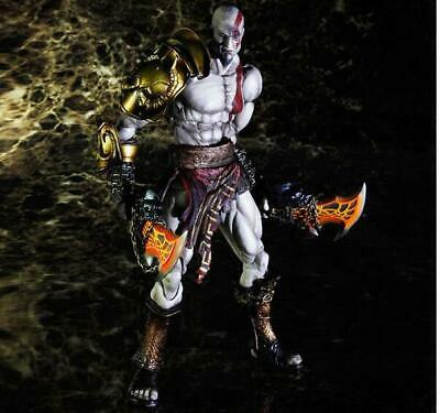 Square Enix Play Arts Kai God of War Kratos PVC Action Figure Model Boxed 25cm