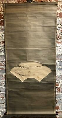 Preowned   Japanese Scroll Painting