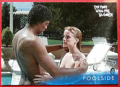 DAVID BOWIE - The Man Who Fell To Earth - Card #38 - Poolside - Unstoppable