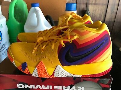 769403ef86a7 NEW Nike Kyrie 4 70s Size 11.5 basketball shoes sneakers irving 943806 700  Rare