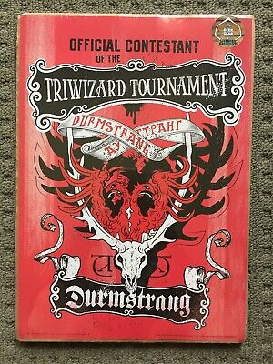 Harry Potter Triwizard Tournament Official Contestant A4 Poster - Durmstrang