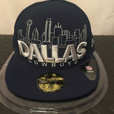 """NFL Dallas Cowboys 7 1/2"""" (59.6 cm) 59FIFTY City Series Fitted Cap by New Era"""