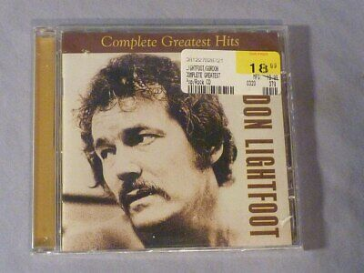 Gordon Lightfoot Complete Greatest Hits CD Warner Rhino Still Sealed