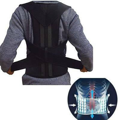 Universal Posture Correction Shoulder Back Corrector Support Lumbar Brace Belt