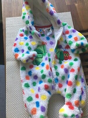 Baby Size 0000 Winter Romper Suit The Hungry Caterpillar Eric Carle Target