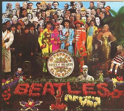 The Beatles ‎/ Sgt. Pepper's Lonely Hearts Club Band + Slipcase