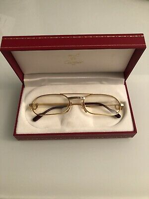 8046452b17 Sunglasses Cartier Paris- MUST SANTOS SCREWS Lunettes de soleil -Vintage  Cartier