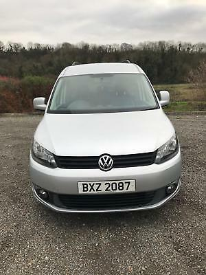 VW Caddy Maxi C20 1.6TDi DSG Wheelchair Disabled Accessible Vehicle - 5 Seats