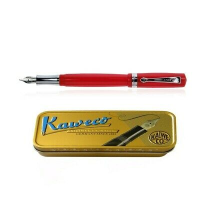 Kaweco Student Fountain Pen Fine Point Translucent Blue 10000165 New