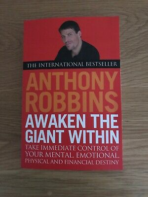 Awaken The Giant Within by Tony Robbins New Paperback Book