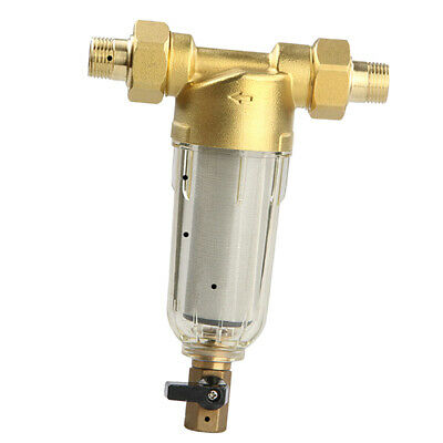 Water Filtration System Spin Down Sediment Water Pre Filter 40um 1/2Inch