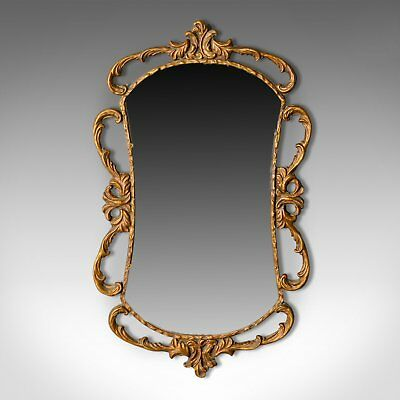 Antique Wall Mirror, English, Victorian, Gilt Gesso, Classical Taste, Circa 1880