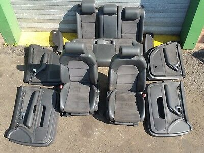 Audi A4 B7 Complete Saloon Interior S-Line Leather Alcantara Seats Door Cards