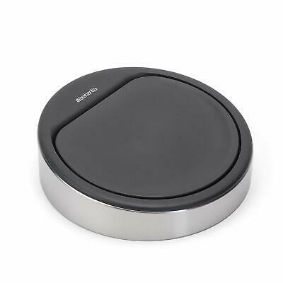 Brabantia Replacement Lid Touch Bin Cover Soft Touch Closure Matte Steel Finish