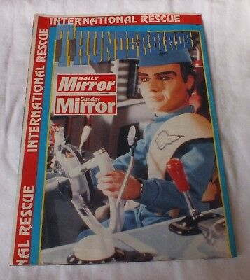 Thunderbirds Souvenir Poster  Daily and Sunday Mirror collector poster complete