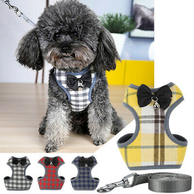 Pet Clothes Costume With Nylon Leash Cute Lovely Small Dog Puppy Vest T-Shirt