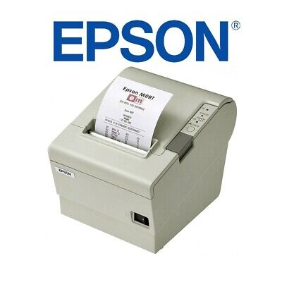 Stampante Termica Epson Tm-T88Iv 80Mm Usb Cassa Windows Scontrini Scommesse-