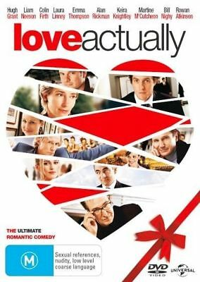 Love Actually DVD Free Shipping very good condition    t7