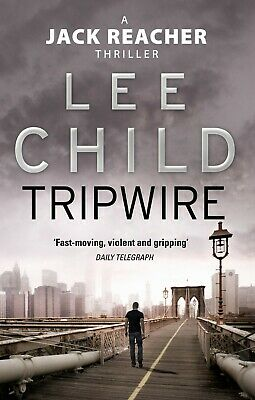 Tripwire: (Jack Reacher 3) by Lee Child NEW Paperback