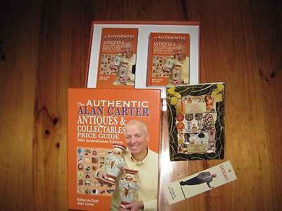 Authentic Alan Carter's Price Guide with Cd,Pocket book & 1 x 2009 Fact finder
