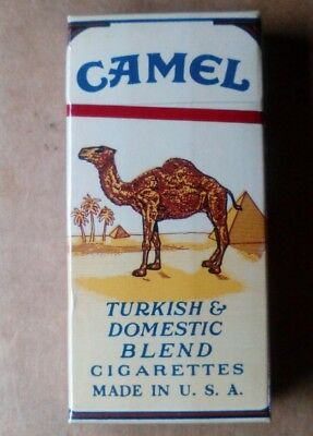 """1 VINTAGE ('60s-'70s) COLLECTIBLE CIGARETTE PACK- """"CAMEL""""(COMPLIMENTARY) - EMPTY"""