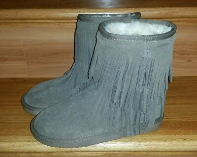 4c50285cc7b KOOLABURRA BY UGG 1015897 Ankle Cable Winter Boots Woman US 5 Gray ...
