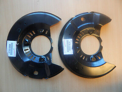 FRONT LH 47782-42010 4778242010 Genuine Toyota COVER DISC BRAKE DUST
