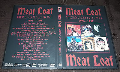 Meat Loaf - Video collection 1 (1975-1991) DVD SPECIAL FAN EDITION