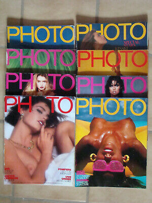 PHOTO Lot de 8 FRENCH Magazine PHOTO 1985 N° 210 211 212 213 214 215 218 219
