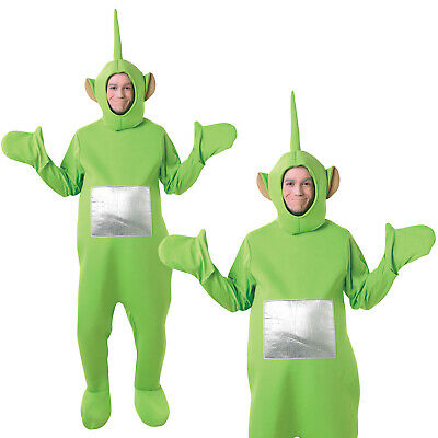 Rubies Adults Official Teletubbies Deluxe Dipsy Book Week Fancy Dress Costume
