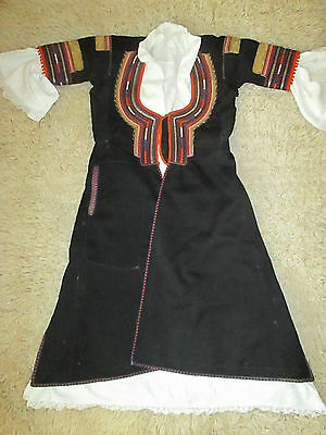 Collectible Authentic Bulgaria Handmade Folk National Traditional Female Costume
