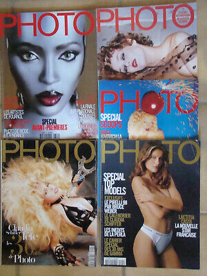 PHOTO Lot de 10 Magazin PHOTO 1997a99 N° 340 343 345 347 348 350 353 355 356 357