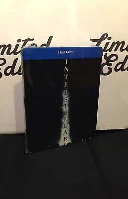 INTERSTELLAR -blu ray-STEEELBOOK-2 dischi-limited edition-New-Ed.italiana