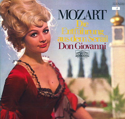 100 LPs MOZART Vocal Music OPERA Don Giovanni Figaro Magic Flute REQUIEM MASS ..