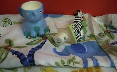 Circo Jungle Animals Kids Bath Set