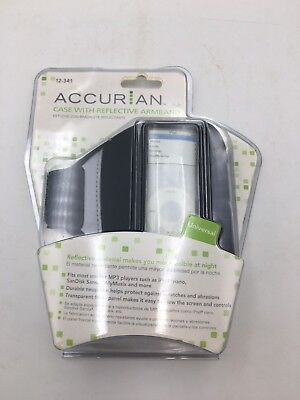 Accurian Mp3 Player Case With Reflective Armband
