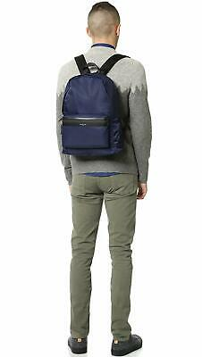 c68383d269ba $415 MICHAEL KORS Men's BLUE NYLON BACKPACK DAYPACK SCHOOL BOOKBAG TRAVEL  BAG