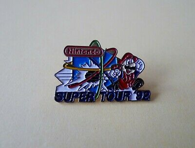 Pins Pin's Nintendo Super Tour 92 Mario Bros Game