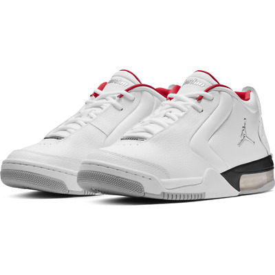 d4054bbadd43 MEN S AIR JORDAN Big Fund White Grey Red Sizes 8-13 New in Box ...