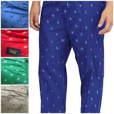 7208a43a POLO RALPH LAUREN Men's Pajamas Lounge Pants Sleepwear Pony All Over ...