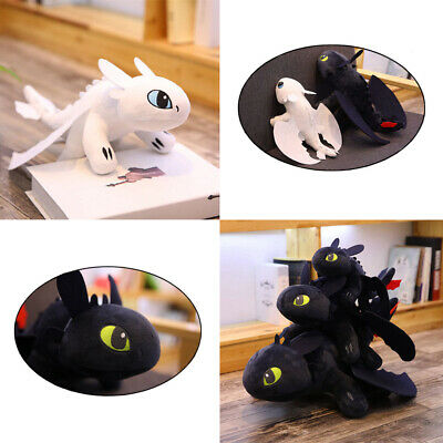 How to Train Your Dragon Toothless Night Fury Stuffed Animal Plush Toy Kids Gift