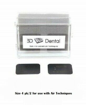 Dental Air Techniques Type X-ray Phosphor Plates Size #4 Pk/2  XR954