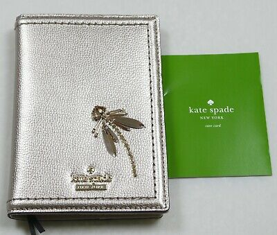 Kate Spade Gold Tone with Stone Passport Holder