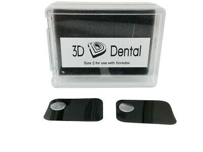 Dental Phosphor Imaging Plates for Soredex Size #0 Pack of 2 XR970
